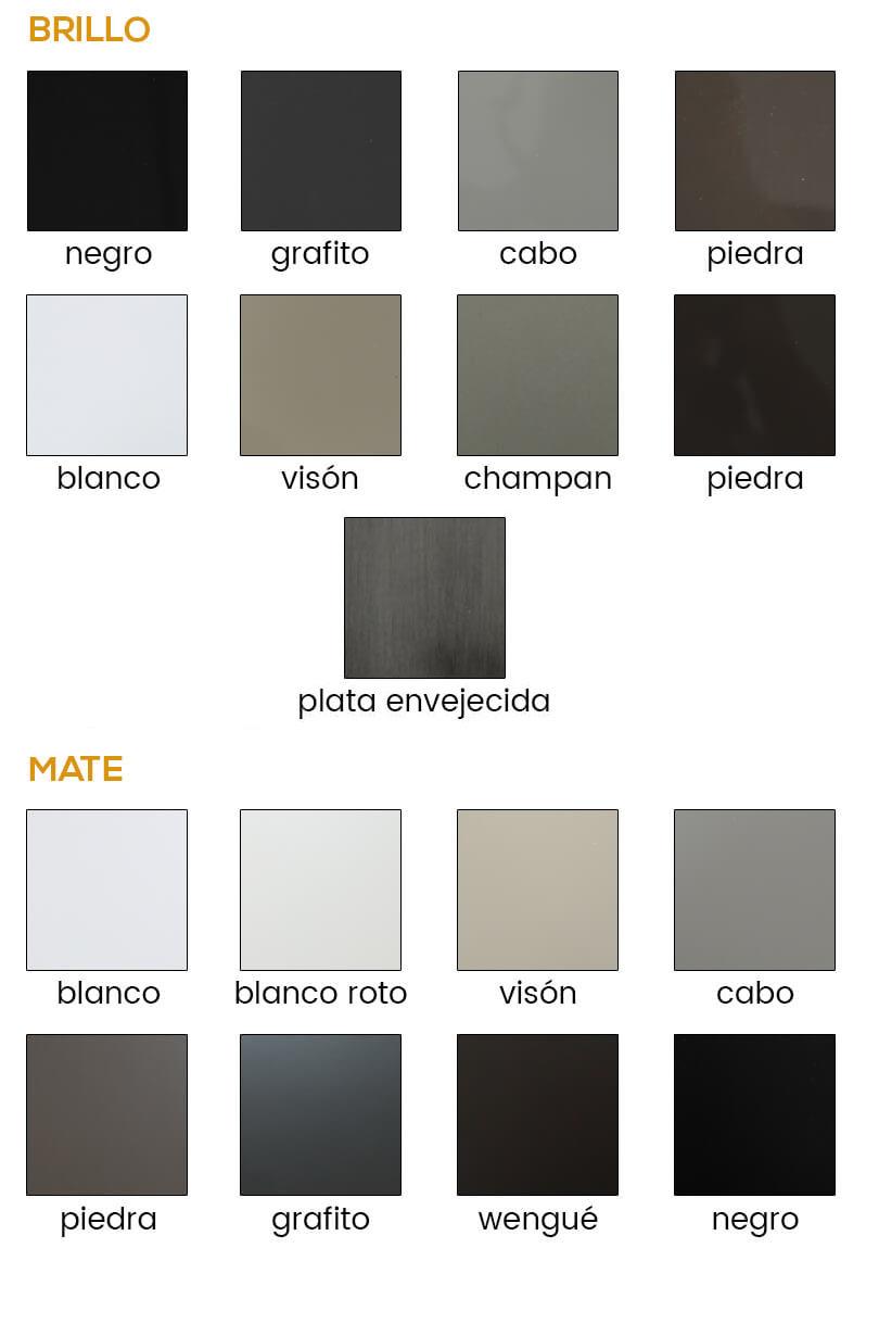 Colores Canapé de madera Valladolid