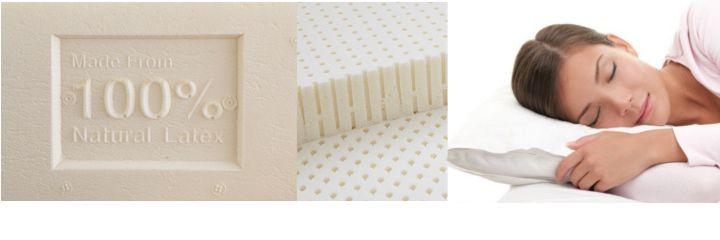 almohada latex natural