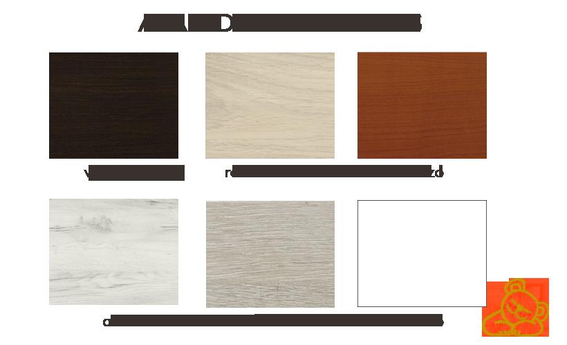 colores disponibles canapé madera navarra