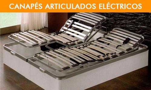 Canapés articulados eléctricos