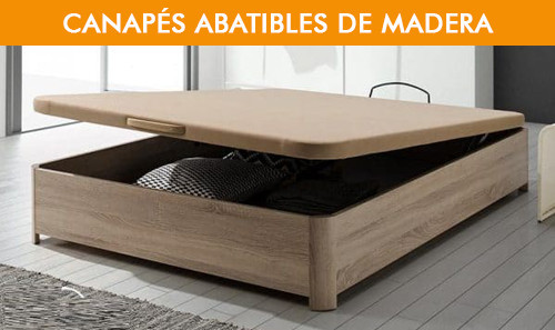 Canapés Abatibles de Madera